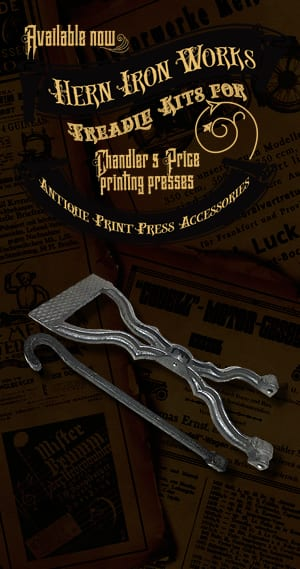 Chandler & Price Treadle Kits and more